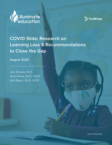 COVID Slide: Research on Learning Loss & Recommendations to Close the Gap